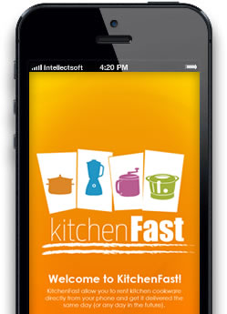 kitchen fast iphone app screen 1