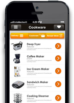 kitchen fast iphone app screen 3